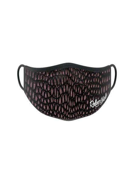Reusable face mask - 2 layers- design Croc