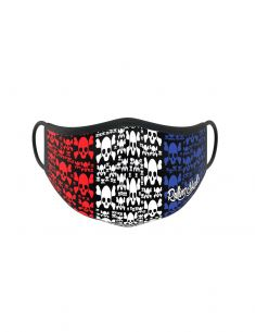 Reusable face mask - 2 layers- design French