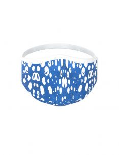 Reusable face mask - 3 layers - design Paros