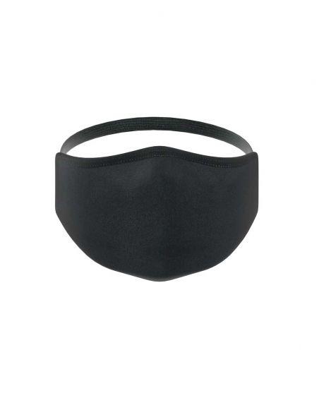 Reusable face mask - 3 layers - Black